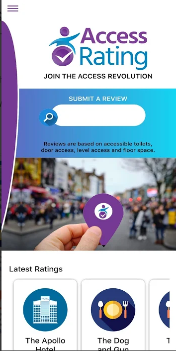 Access Rating Disabled Access Review App