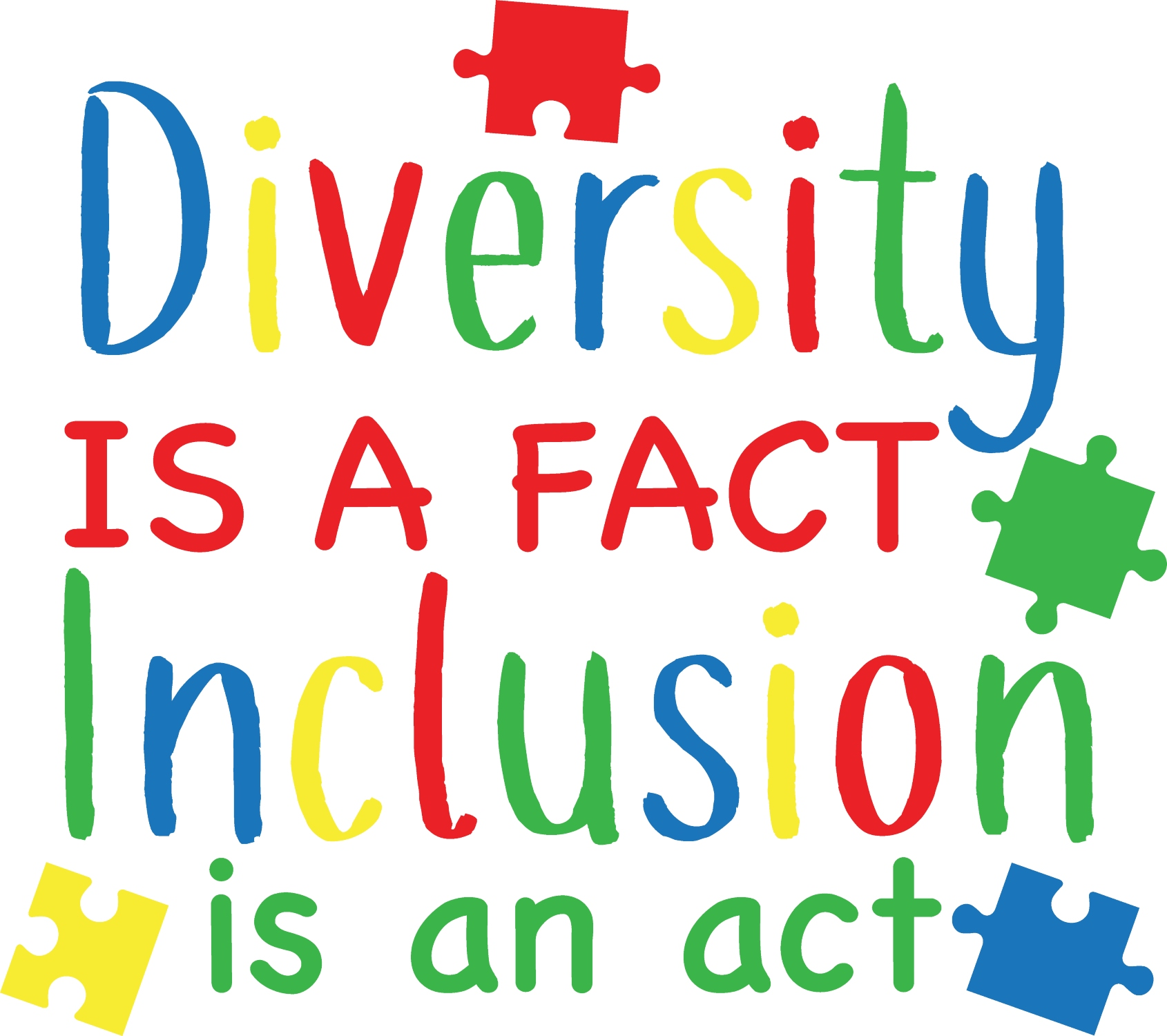 Diversity is a fact, inclusion is an act